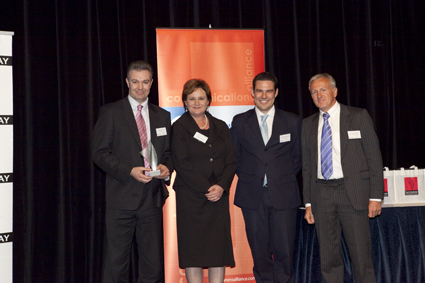 Dialogue and Optus receive the ACOMMS award for WAP Billing