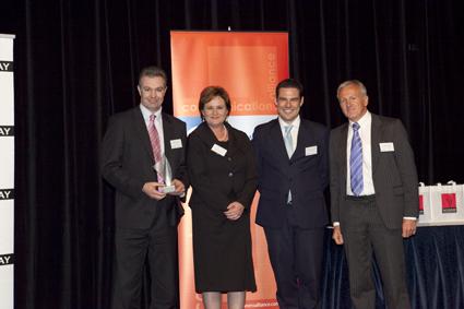 Dialogue and Optus receive the ACOMMS award for WAP Billing