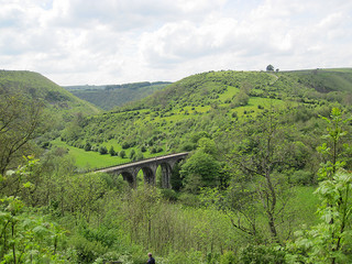 Cycling through the White Peak to reach Monsal Head